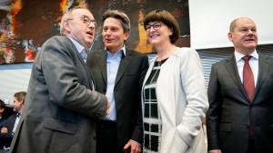 Wen schickt die SPD ins Rennen?