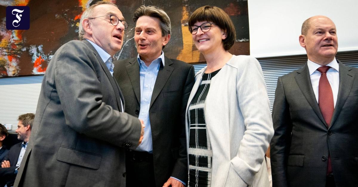Wen schickt die SPD ins Rennen? - FAZ