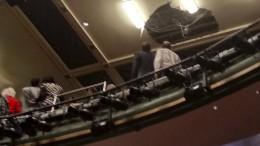 Deckenteile von Londoner Theater eingestürzt