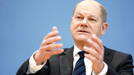 Scholz kündigt Nachtragshaushalt an