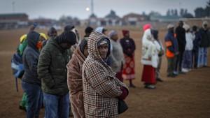 Umfragen sehen ANC vorne