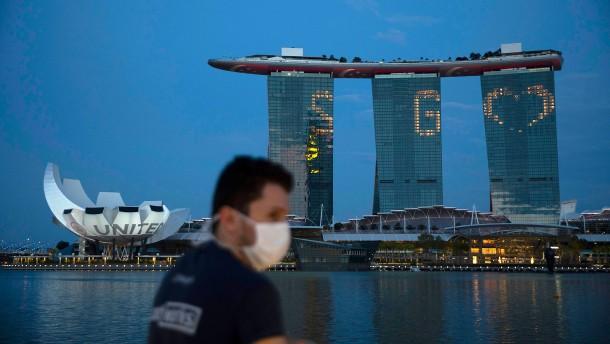 Das Weltwirtschaftsforum findet in Singapur statt