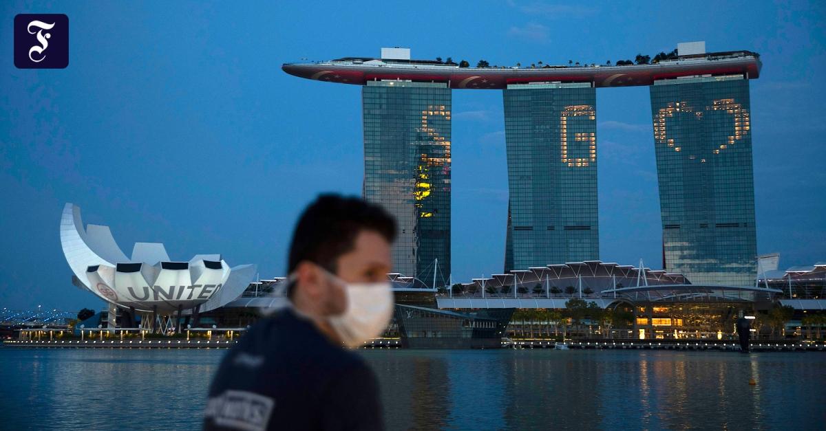 Wegen Corona: Das Weltwirtschaftsforum geht nach Singapur
