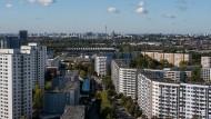 Voller Hochhäuser, aber auch voller Wohnungen: Berlin-Marzahn.