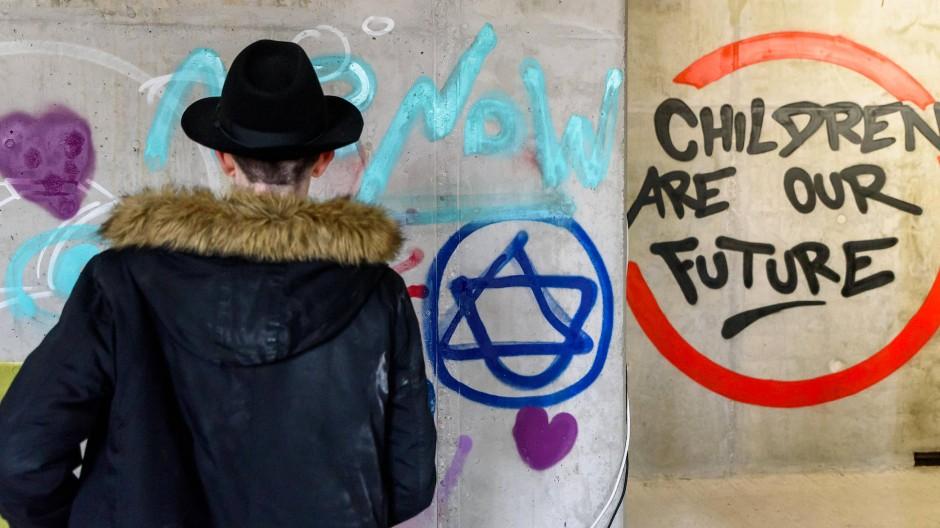 Das jüdische Leben in Deutschland hat sich gewandelt: Bild vom Richtfest eines jüdischen Campus in Berlin