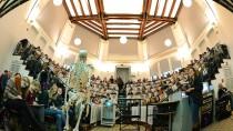 Nichts umsonst: Anatomievorlesung an der Uni Halle-Wittenberg.