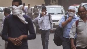 Viele Tote bei Sandstürmen im Norden Indiens
