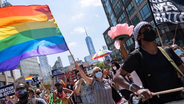 Demonstrationen für LGBT-Rechte auf der ganzen Welt