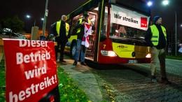 Busfahrer streiken auch am Wochenende