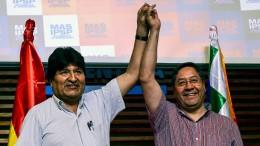 Luis Arce kündigt Rückkehr nach Bolivien an