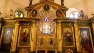 Prunkstück: Die Ikonenwand der russisch-orthodoxen Reinhardskirche in Bad Nauheim nach der Restauration