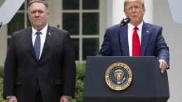Trump beendet Zusammenarbeit mit WHO