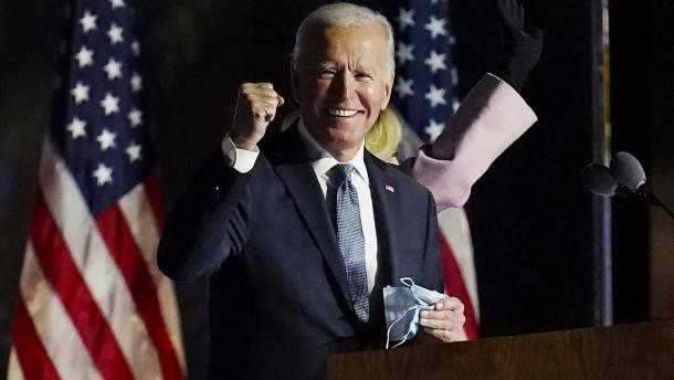 Biden gewinnt die Präsidentschaftswahl