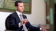 Syriens Präsident Assad: Laut Amnesty International wird in den Gefängnissen seines Landes gefoltert.