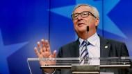 Juncker stehe für die EU post-Brexit: orientierungslos und müde.