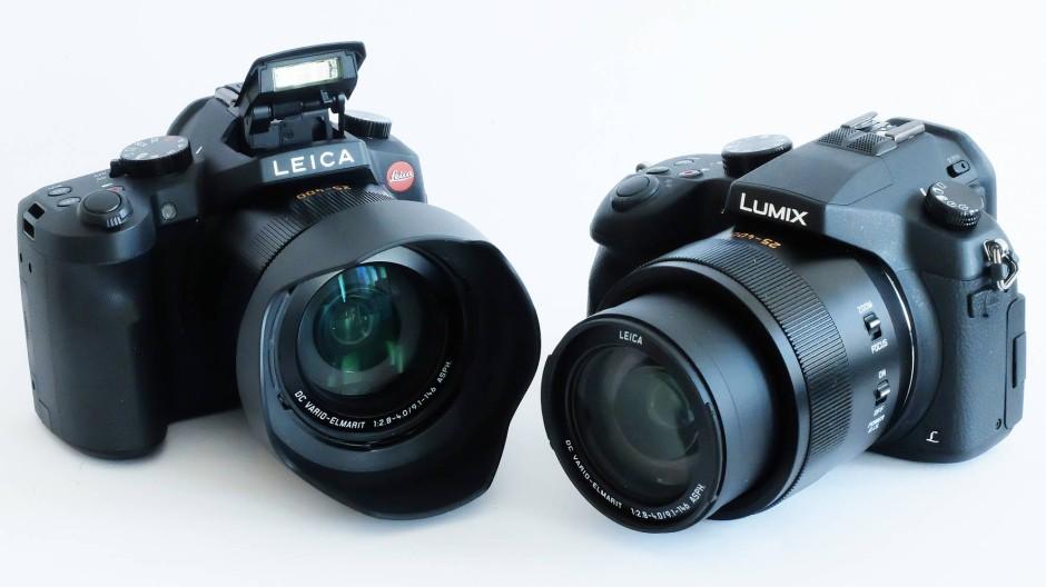 Wie sich die Brocken gleichen: Leica V-Lux und Lumix FZ1000