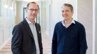 Großkonzern-Chef trifft auf Start-up-Milliardär