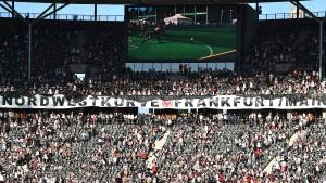 Oberbürgermeister und Eintracht für Ausbau des Waldstadions