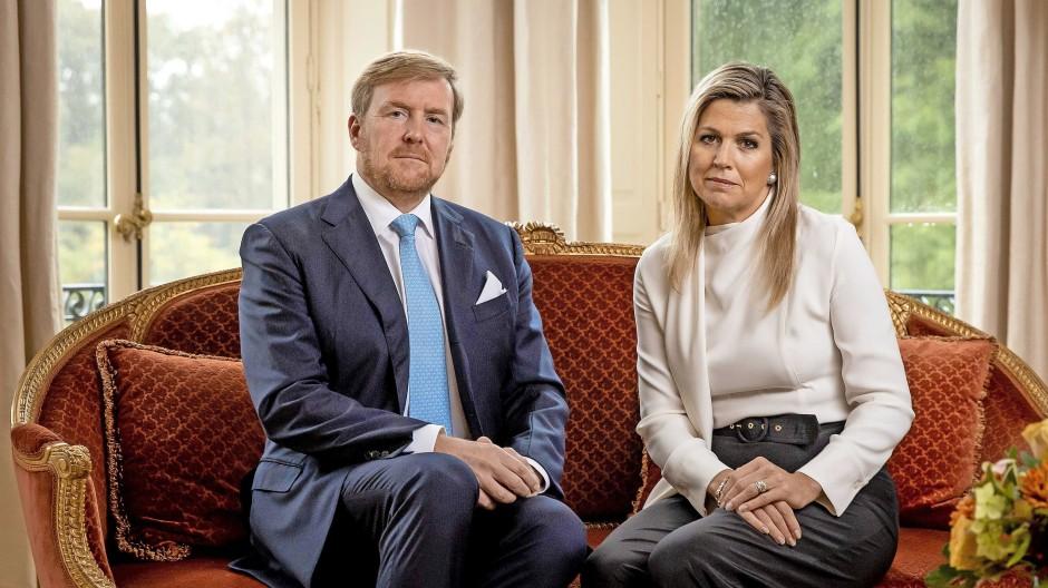 Vom roten Sofa in die Goldene Kutsche: Willem-Alexander und Máxima