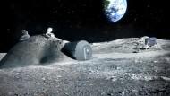 Dorf auf dem Mond als Brücke zum Mars?