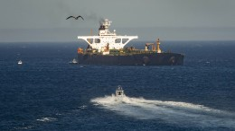Festgesetzter Öltanker verlässt Gibraltar