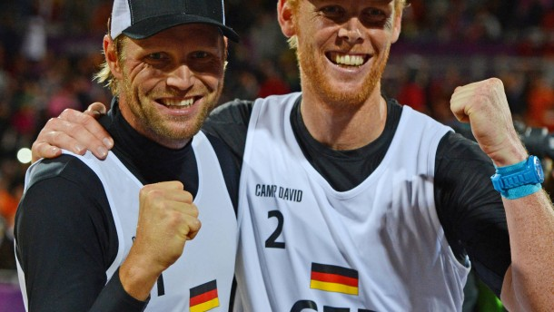 Brink/Reckermann im Olympia-Finale