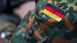 Festgenommener Soldat unter Terrorverdacht