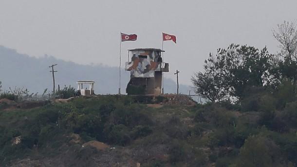 Schusswechsel in Grenzregion zwischen Süd- und Nordkorea