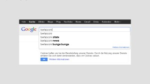 Screenshot / Suche / Berlusconi / www.google.de