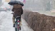 Sturm und Regen zum Frühlingsauftakt