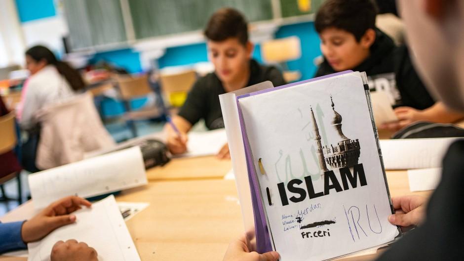 Kooperation mit Ditib: Islam-Unterricht an einer Frankfurter Schule im Jahr 2019