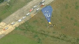 Unfall mit Heißluftballon