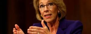 Bildungsministerin Betsy DeVos war Chefin einer Investment-Gruppe