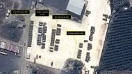 Russisches Kriegsgerät in Syrien, Satellitenbild