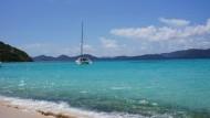 So schön ist es in einer Steueroase: ein Strand auf den British Virgin Islands