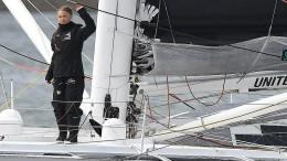 Jetzt ist Greta Thunberg Wind und Wetter ausgeliefert