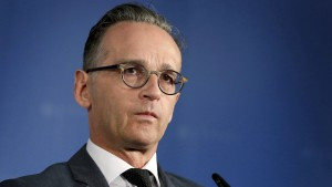 Maas irritiert über Kramp-Karrenbauers Syrien-Vorschlag