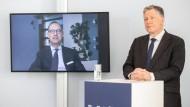 Oliver Bäte im Gespräch mit Gerald Braunberger.