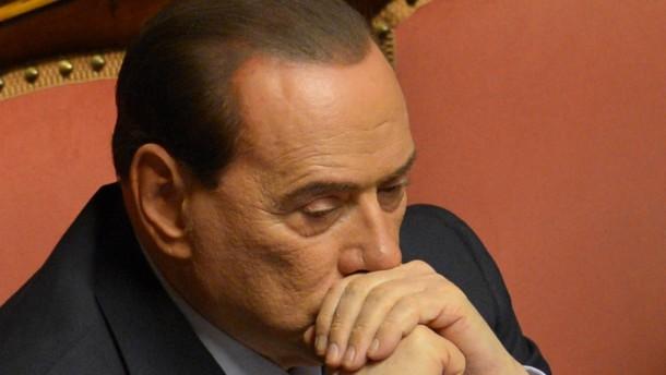 Berufungsgericht bestätigt Haftstrafe gegen Berlusconi
