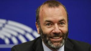 Manfred Weber will nicht EU-Parlamentspräsident werden