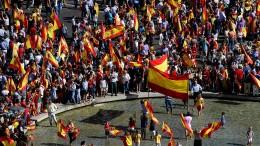 Für die Einheit Spaniens