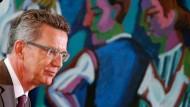 Kehrt in sein altes Ministerium zurück: Thomas de Maizière (CDU)