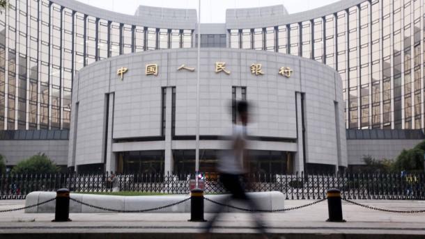 Chinas Notenbank soll größere Rolle spielen