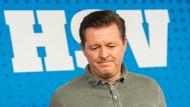 Für Christian Titz ist die Zeit beim Hamburger SV abgelaufen.