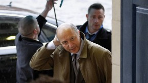 Laurent Fabius in Dublin