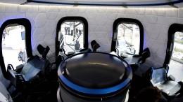 Raumfahrtfirma von Jeff Bezos versteigert Platz in Astronauten-Kapsel