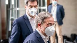 Treffen von Söder und Laschet endet offiziell ohne Ergebnis