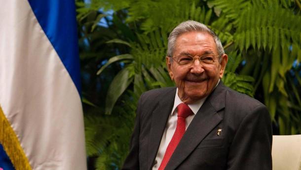 Raúl Castro tritt im April als Staatschef ab