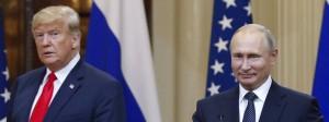 Warum lacht sich Kremlchef Putin in Helsinki derart ins Fäustchen? Amerikas Demokraten wollen der Sache auf den Grund gehen.