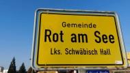In Rot am See gab es am Samstagvormittag den zweiten Polizeieinsatz binnen 24 Stunden.